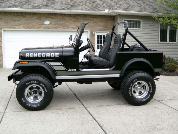 Jeep CJ7 - was my dream in high school.