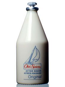 Old Spice aftershave - my dad