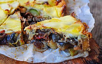 Torta di verdure in crosta di patate facile e veloce