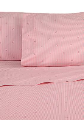 Southern Tide Girls' Skipjack Twin Xl Sheet Collection - Pink