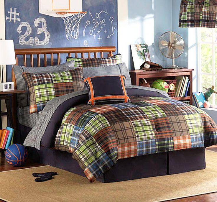 boys teen Bed in a Bag Super Set Multicolor  Full Size. Best 25  Boys comforter sets ideas on Pinterest   Kids comforter