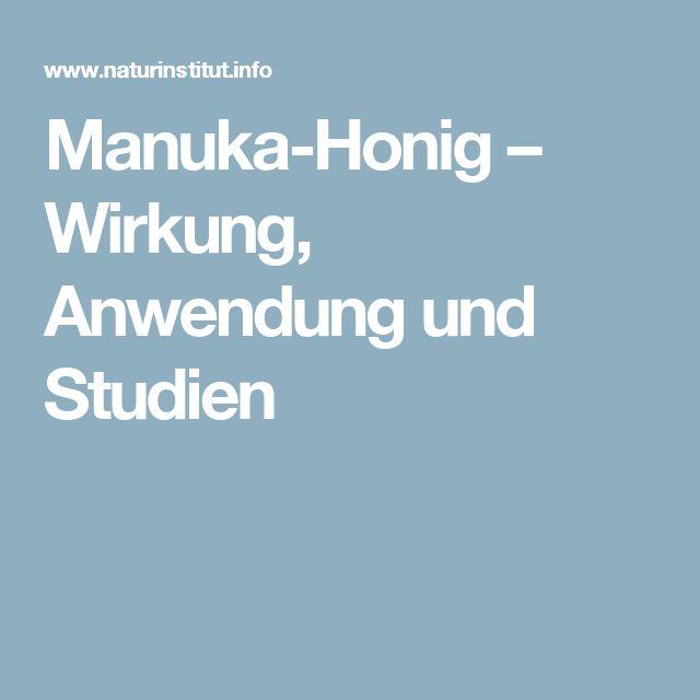 Manuka-Honig – Wirkung, Anwendung und Studien