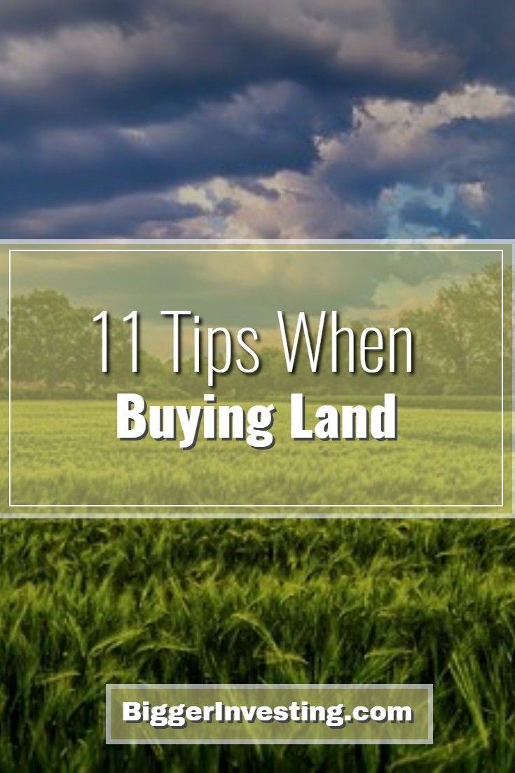 11 Tips When Buying Land - BiggerInvesting com | Essentials