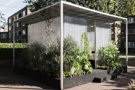 """The project is called """"MINI LIVING Forests"""" and was revealed during the 2016 London Design Festival. These city mini gardens are designed by Asif Khan to offer complete relaxation and to help the city-people to desconnect from their everyday routine."""
