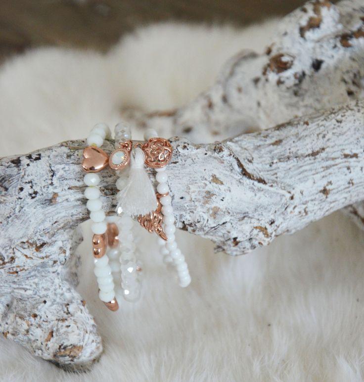Biba armbandje wit! #biba #bracelets #armbandjes #white