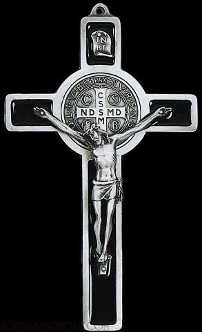 The powerful St. Benedict Crucifix
