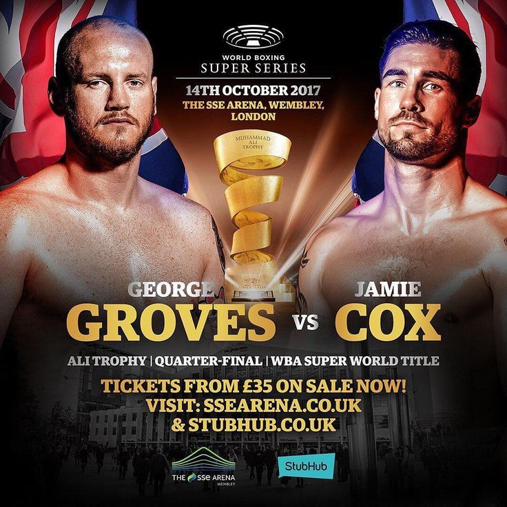 Who's ready for the World Boxing Super Series Tournament? . .  #GrovesCox #WBSS #boxing #behindthegloves #NEWS #boxingnews #sports #london #heyfightfans #worldboxingsuperseries #worldboxing #instaboxing