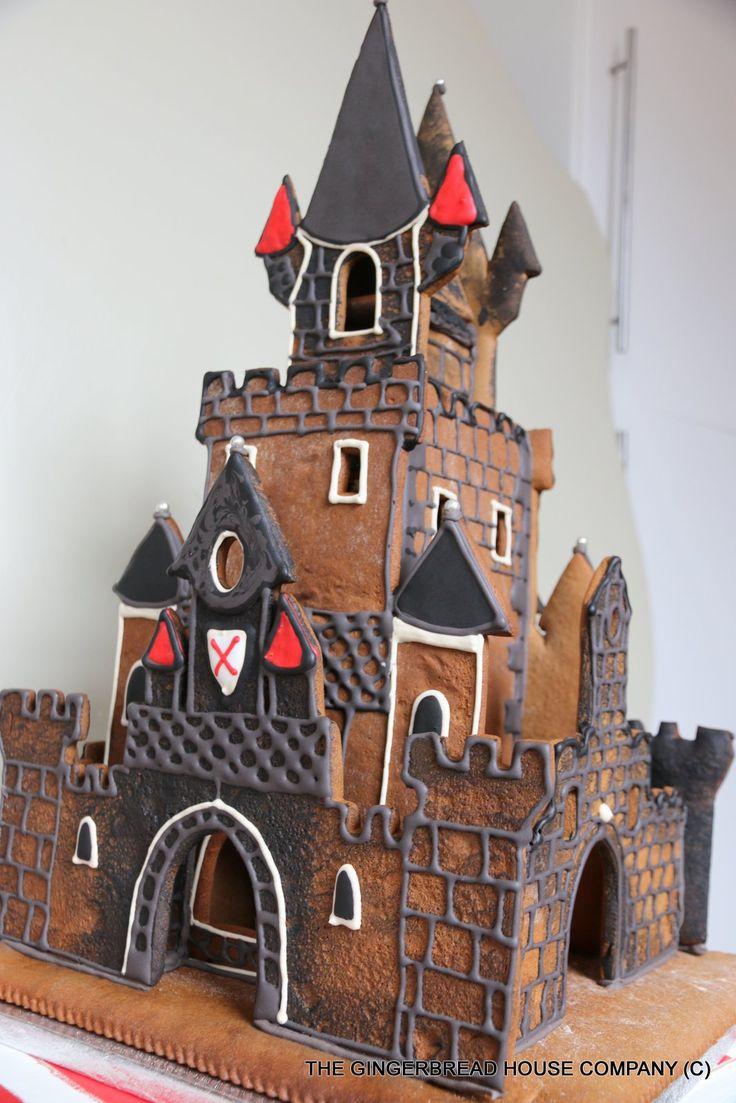 Recipe Gingerbread Castle Templates 23