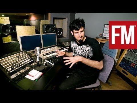 ▶ Pendulum's Rob Swire In The Studio With Future Music - YouTube