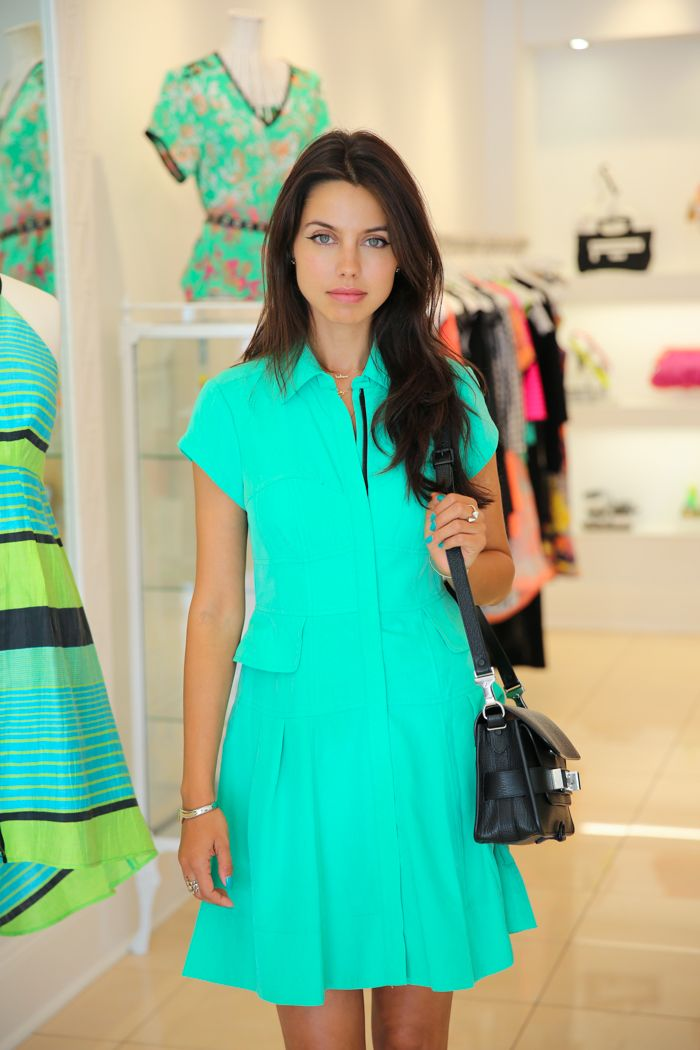 Nanette Lepore Kelly Green dress