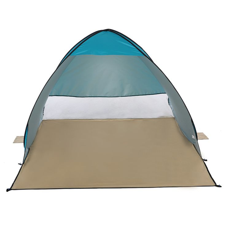 Quick Pop Up Beach Tent - UV-Protective Sun Shelter