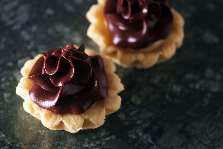 Heavenly Cupcake | Mördegsskal med vanilj och choklad…