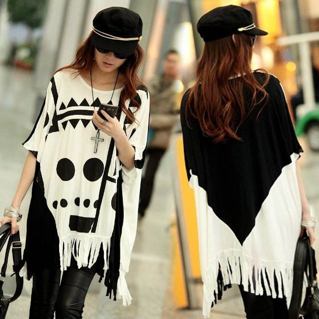 Trendy cover all poncho only $19.69
