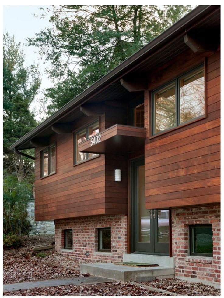 Split Foyer Home Exterior : Best split entry images on pinterest exterior homes