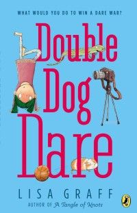 7 great tween books for fun end of summer reading, including Double Dog Dare by Lisa Graff #books