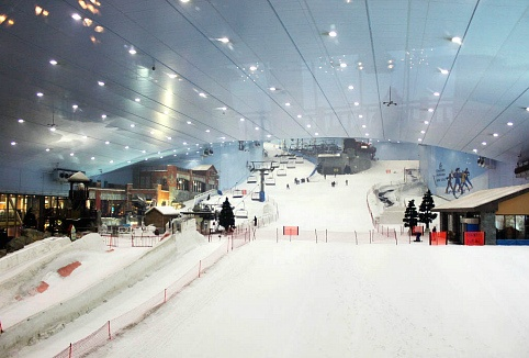 Things to do in Dubai:Ski #Dubai