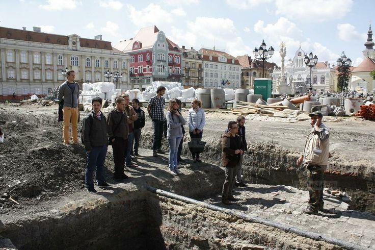 Arhitectura Timisoarei de demult, predata direct pe santierul arheologic