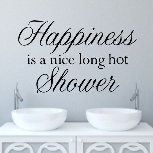 Beautiful Bathroom Quotes best 25+ bathroom wall stickers ideas on pinterest | bathroom wall