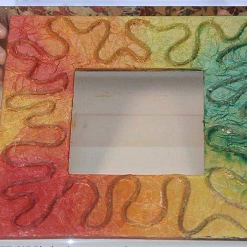 Técnica de Texturado y Coloreado utilizando Plasticola