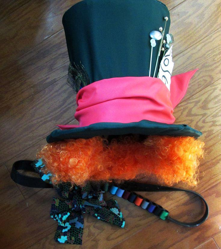 diy mad hatter costume more mad hatter costumescostumes kidshalloween - Mad Hatter Halloween Costume For Kids
