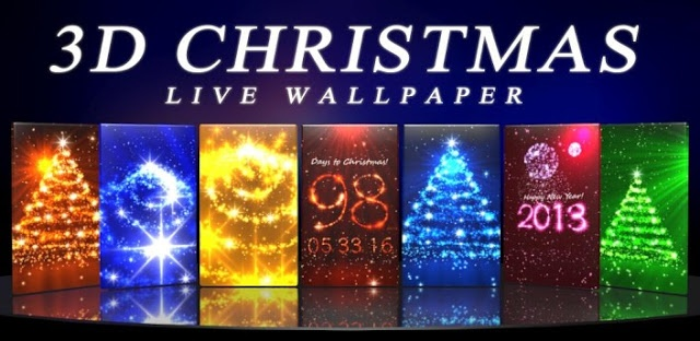 3D Christmas Live Wallpaper for Android Smart Phone ~ Tutorials All -Photoshop-Flash Tutorials | Programing | 3D | Web | Online Shopping | Review