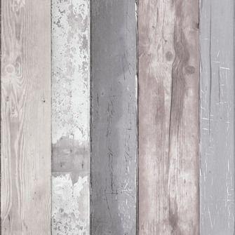 Vtwonen vliesbehang steigerhout grijs (dessin 50-159) Karwei EUR 18,74 Ongeveer 10 rollen nodig.