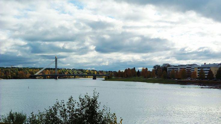 Scenary of Rovaniemi, Lapland