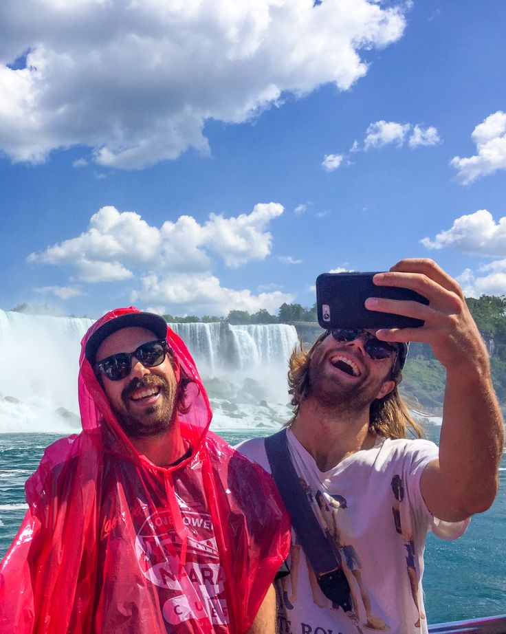 The Darcy's band visited Niagara Falls and came on the Hornblower Niagara Cruises Voyage to the Falls Boat Tour!
