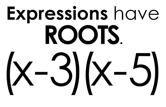 Math = Love: Solutions, Roots, Zeros, and X-Intercepts, Oh