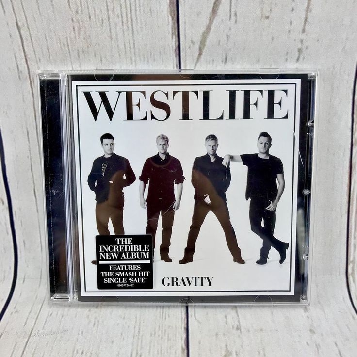 Westlife Gravity CD 2010 Music Songs Perfect Disc album Complete VGC Look 👀