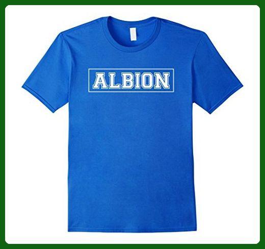 Mens Albion Team T-Shirt College Arch Gym Sports Club Fan Gift 3XL Royal Blue - Workout shirts (*Amazon Partner-Link)