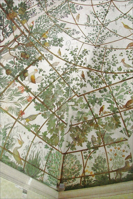 Fresques du studiolo de la villa Médicis (Rome)