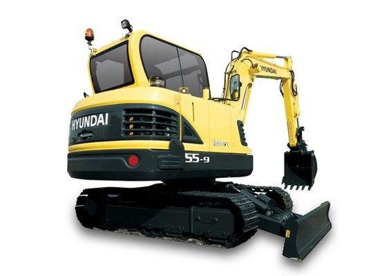 Hyundai R55 9 Mini Crawler Excavator Service Manual Hyundai Excavator Cat Excavator