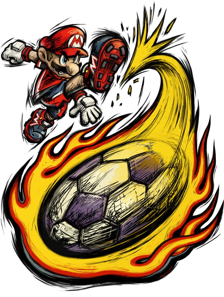 Mario - Mario strikers Charged