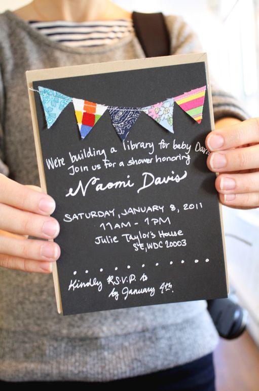 Book party invite