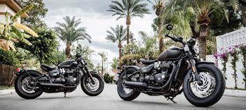 Triumph 1200 Bobber Black 2018