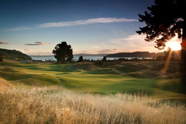 The 14th hole at The Kinloch Club Golf Course