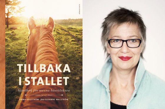 Författarbesök med Anna Kågström, författaren bakom boken Tillbaka i stallet - handbok för vuxna hästälskare. Arkenbiblioteket tisdag 8 mars kl 18:30