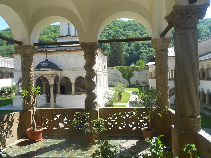 Horezu Monastery in Valcea, Romania.