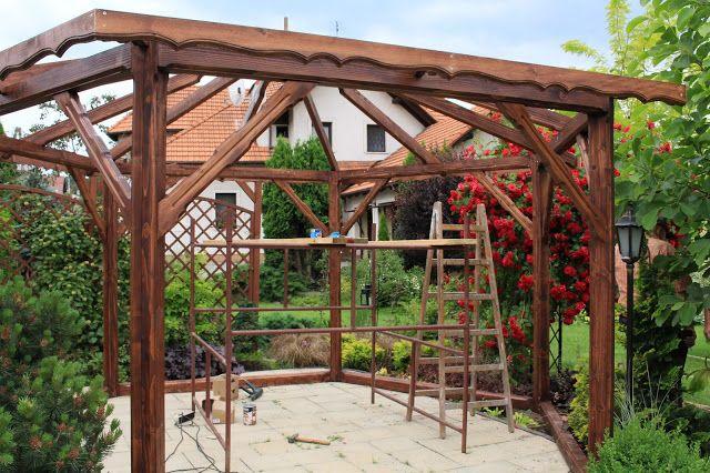 OGRÓD U STÓP KLASZTORU: Altana w ogrodzie -mój pomysł