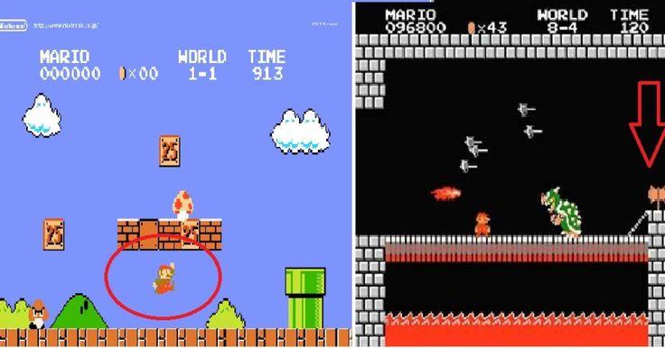 A la mayoría de nosotros nos gustó jugar Mario Bros en nuestra infancia y adolescencia y algunos seguimos teniendo el gusto de jugarlo en estos tiempos, pues es un juego que se ha estado renovando y acoplándose a las nuevas tecnologías.  Por eso es interesante esto, pues mientras va el jugo evolucionando, nosotros nos quedamos con algunas ideas que no son verdaderas, sino más bien las hicimos cuando éramos niños y se quedaron como una verdad o un mito en nuestras memorias.