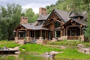 Colorado Mountain Home In Aspen House Inspiration Lakes