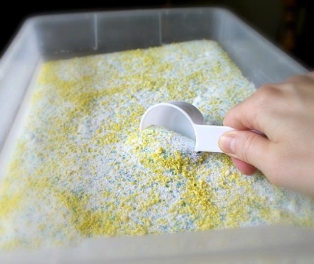 Φτιάξτε Εύκολα & Οικονομικά Σκόνη για Το Πλυντήριο!  #χρήσιμα