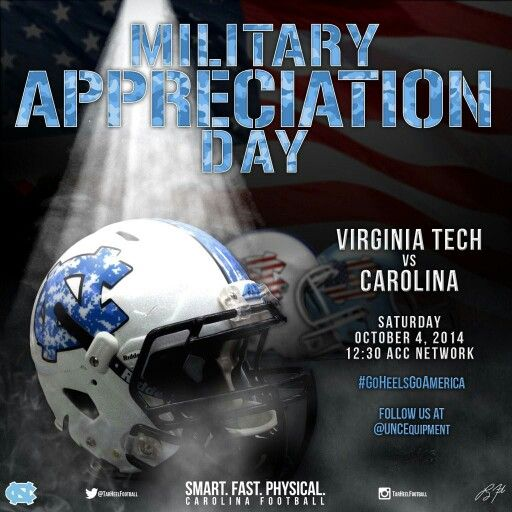 This week's military appreciation helmet. So awesome! Courtesy of Jason Freeman via UNC Sports Equipment twitter