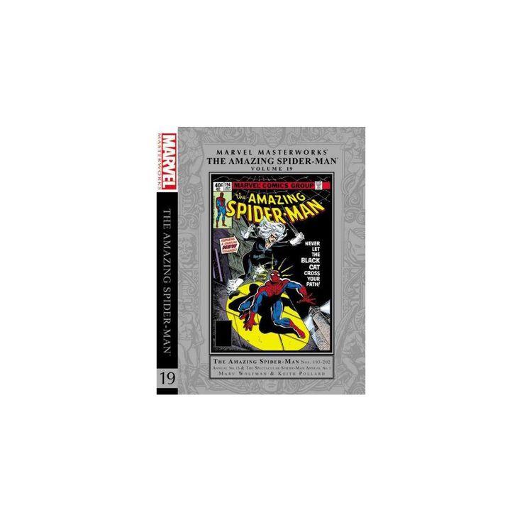 Marvel Masterworks the Amazing Spider-Man 19 (Hardcover) (Marv Wolfman & Bill Mantlo)