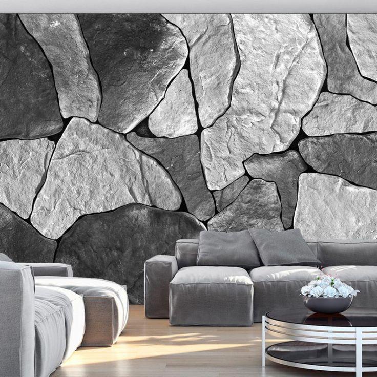 die besten 25 backstein tapete ideen auf pinterest backstein wandgestaltung ziegelstein und. Black Bedroom Furniture Sets. Home Design Ideas