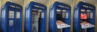 DIY Doctor Who Craft Project- Impressive! but you need the skill of a Timelord to build a homemade MAME console...
