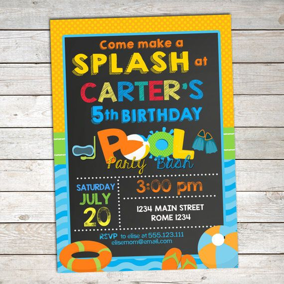 24 Best Pool Party Images On Pinterest Pool Parties Swimming Pool Parties And Birthday