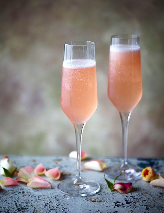 Lychee rose bellini - Sainsbury's Magazine