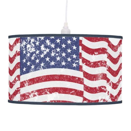 american flag wavy